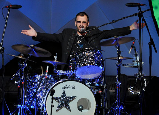 Ringo's drum kit expected to fetch millions at auction ... |Ringo Starr Drums