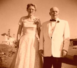 Aunt Merc & Uncle Johnny, Feb 1958