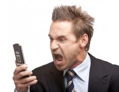 Cellphone user
