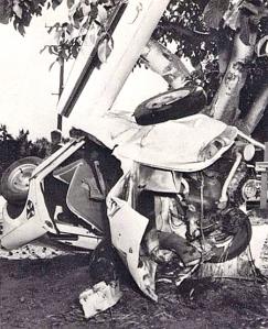 lucas car crash