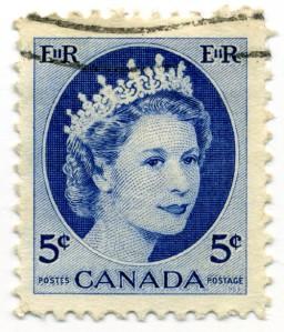 Stamp_Canada_1954_5c_QE2