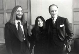 Lennon meets Trudeau