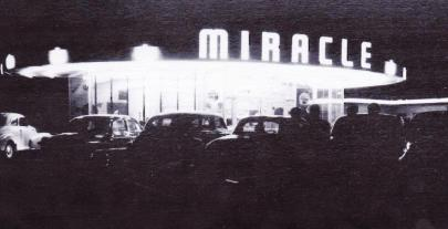 Miracle Drive In at Night