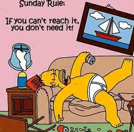 Homer on Sunday