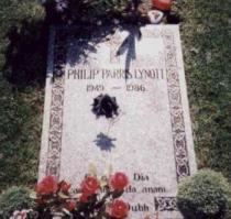 Phil+Lynott grave