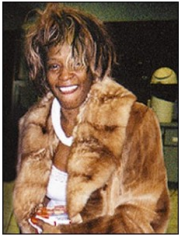 whitney houston looking like shit