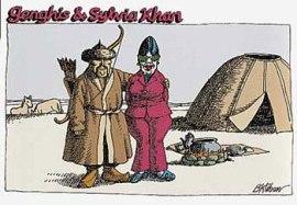 Genghis and Sylvia Kahn