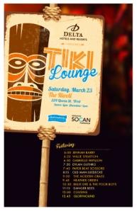 tiki lounge poster