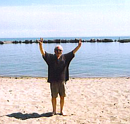 Bob at the Beach