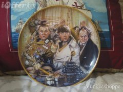 three stooges commemorative plate