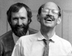 Jim Henson and Frank Oz