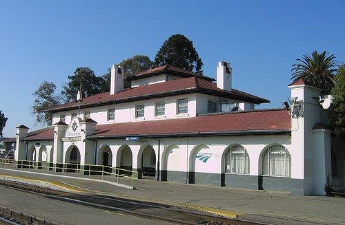 Stockton Train Depot