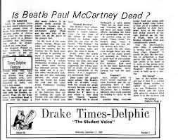 Beatle article