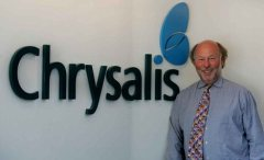 Chris Wright, founder of Chrysalis..Picture by GLENN COPUS