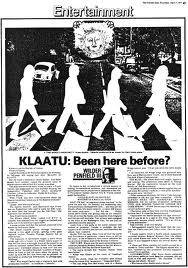 Klaatu is Beatles