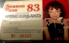 Amy Canada's Wonderland Pass 1983