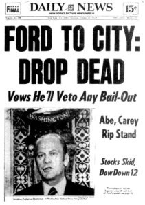drop dead daily news front