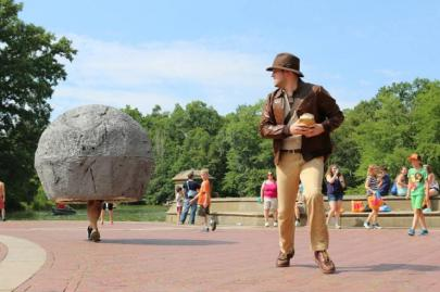 Indiana Jones and his Boulder