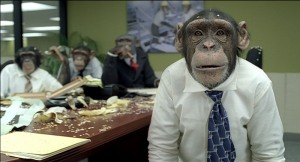 CAREERBUILDER.COM CHIMPANZEE SUPER BOWL ADS