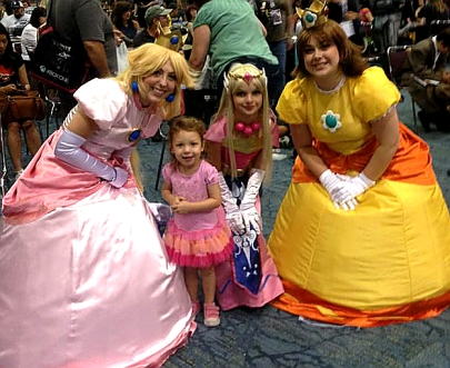 Princess Tilda with a bunch of lesser Princesses