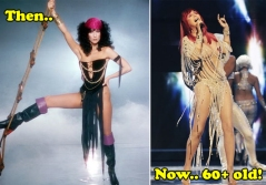 Cher stage