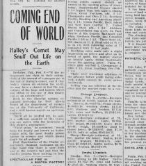 1910 Halley's Comet
