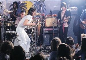 The Rolling Stones at El Mocambo, c 1977 (photo by Ken Regan).
