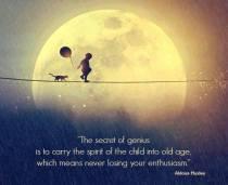 secret of genius