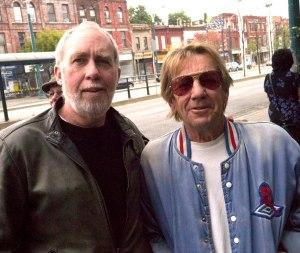 Steve Hunter and Malcolm Tomlinson at Reggie's