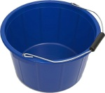 a bucket for women to poop in