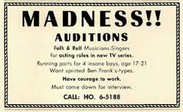 monkee audition notice