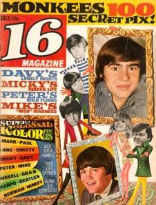 monkees 16 magazine