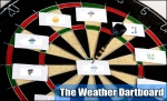 weather dartboard