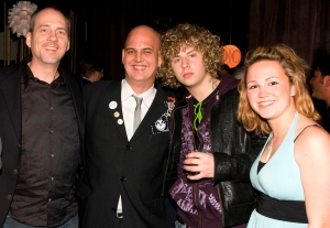 Mike McCarty (SOCAN), Cam, Tyler Armes (Down with Webster) Kari Carpenter
