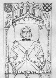 William de Vernon tomb