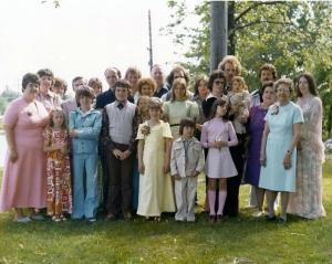 Barker Family 1970s