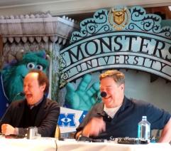 billy crystal john goodman monsters university