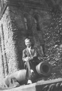 Herbert Barker posed