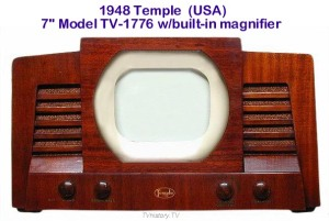 Our first TV 1949