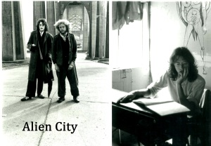 alien city pose