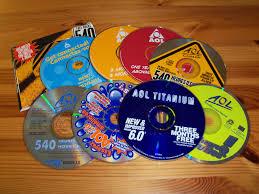 aol disks