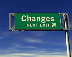 changes exit