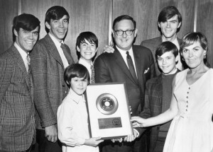 Cowsills_gold_record_1967