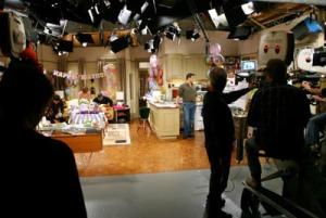 sitcom- being shot