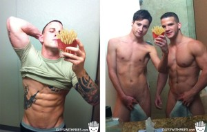 male selfies