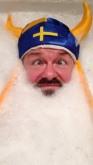 ricky gervais viking bath