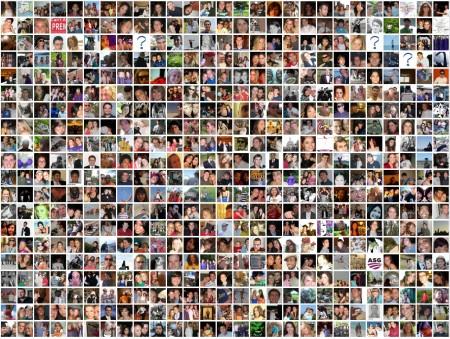 facebook-friends grid