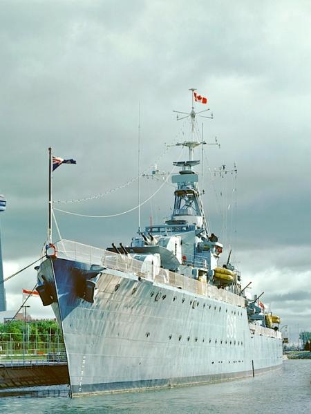 HMCS Haida, Toronto, ON, 1990