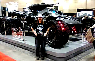 Riley and the Batmobile