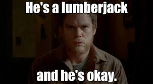 Dexter the Lumberjack